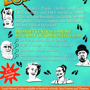 Free Performance for Families - 'Local Heroes'