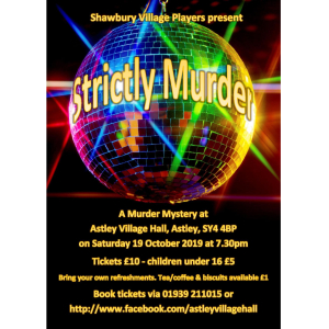 'Strictly Murder' - A Murder Mystery