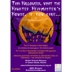 Visit the  Haunted Headmaster's House – if you dare!