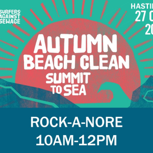 Hastings Big Autumn Beach Clean