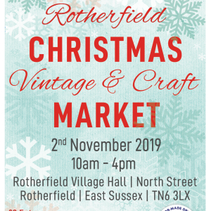 Rotherfield Christmas Vintage & Craft Market
