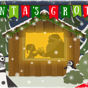 Santa's Grotto at Bristol Zoo Gardens