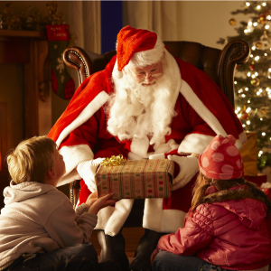Santa's Grotto at Burston Garden Centre