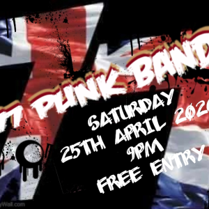 77 Punk Band LIVE at the Bridgtown Social Club