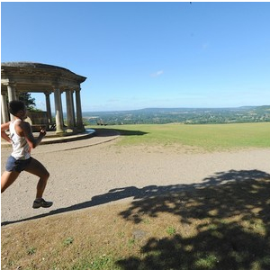 North Downs Half-Marathon and Marathon, July 2020