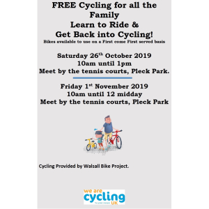 Free Cycling for All the Family