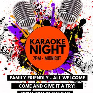 Karaoke Night at the Bridgtown Social Club