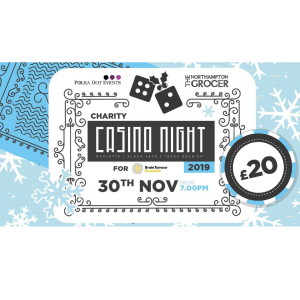 Casino  Charity Night inc food and live entertainment