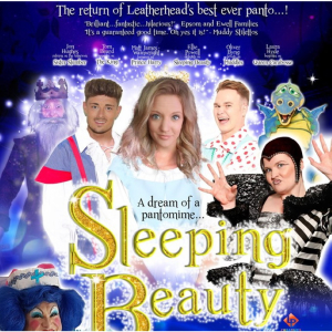 SLEEPING BEAUTY #ChristmasPanto at #Leatherhead Theatre @LHDTheatre