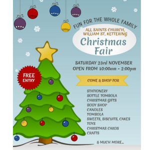 Christmas Fair at All Saints