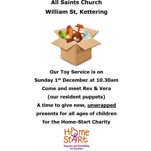 Toy Service at All Saints