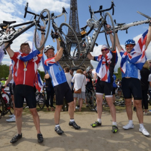 London to Paris Cycle for RUH patients