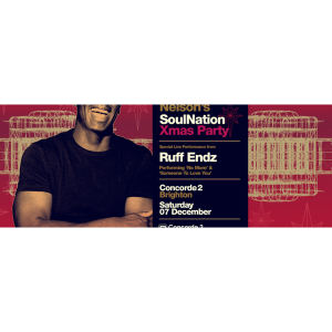 Trevor Nelson + Special guests Ruff Endz - Brighton  Concorde 2