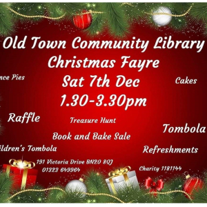 Old Town Community Library's Christmas Fayre