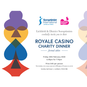 Royale Casino Charity Dinner