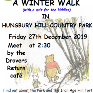 Winter Walk at Hunsbury Hill Country Park