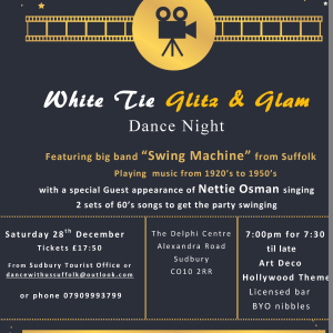 White Tie Glitz & Glam Party Dance