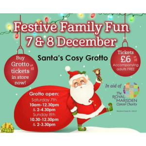 Festive Family Fun Weekend at #Ashtead Park Garden Centre  @AshteadParkGC