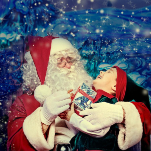 Visit Santa's Christmas Grotto at The Galleria