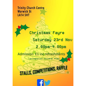 Trinity Church Centre Christmas Fayre