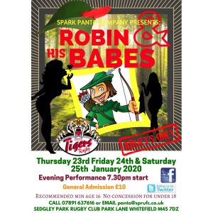 Robin & His Babes - adult themed panto!