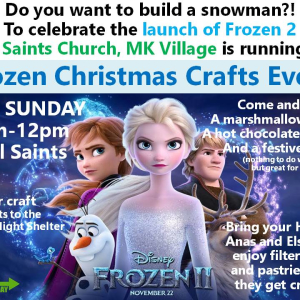 Go4th Frozen Christmas Craft Event
