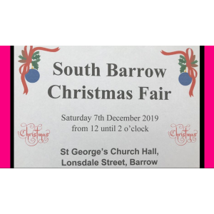 Christmas Fair at St George's Barrow