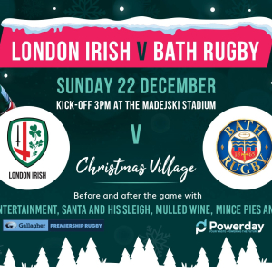 London Irish's Christmas Game