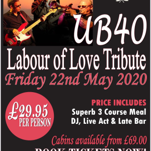 UB40 Labour of Love Tribute