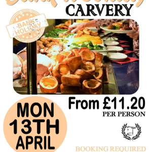 Bank Holiday Carvery
