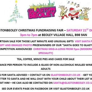 GlastonBeoley Christmas Fundraising Fair