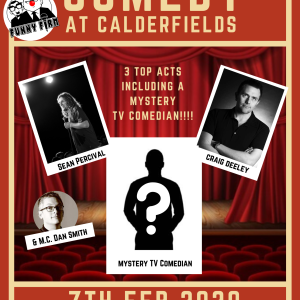 Comedy Night at Calderfields Golf and Country Club