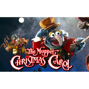 Muppet Christmas Carol with Father Christmas