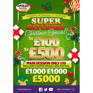 Apollo's Super Saturday Xmas Special
