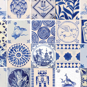 Adult Workshop - Delft Tile Painting
