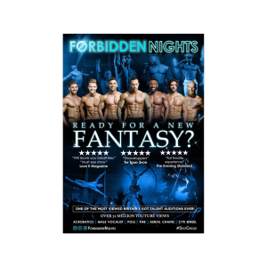 Forbidden Nights Comes To Taunton #GirlsNightOut