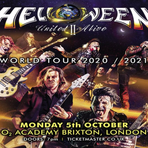 Helloween - United Alive World Tour Part II at O2 Academy Brixton