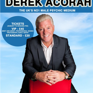 An Evening with Derek Acorah Psychic Medium
