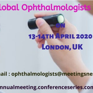 34th Global Ophthalmologist Annual Meeting