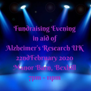 Fundraising Evening in aid of ARUK