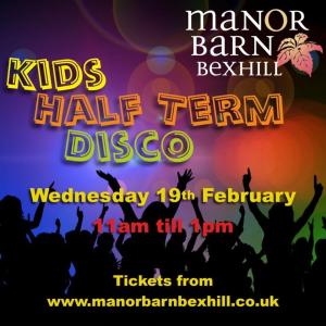 Kids Half Term Disco Party