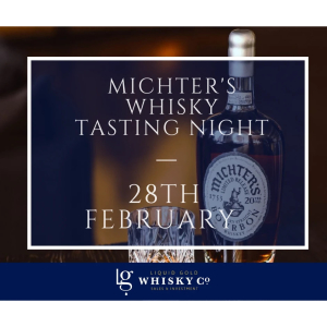 Michter's Tasting Night at Liquid Gold in #Ashtead @LGWhiskyCo