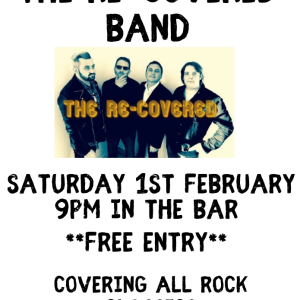 The Re-Covered Band LIVE at The Bridgtown Social Club