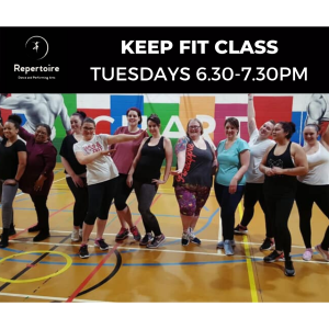 Keep Fit Class at Repertoire Dance and Performing Arts