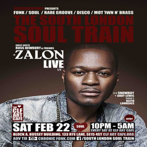 The South London Soul Train with Zalon (Live) + More