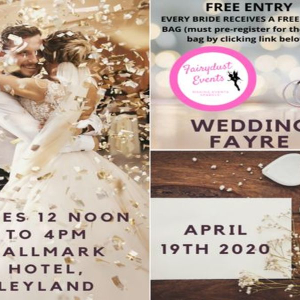 Wedding Fayre - Hallmark Hotel - register to get your FREE goodie bag!