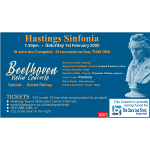 Hastings Sinfonia Winter Concert