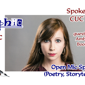 Allographic Open Mic and Stream-Speaking Book Launch featuring Amber-Page
