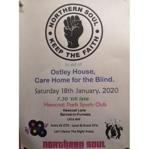 Northern Soul Night In Aid Of Ostley House
