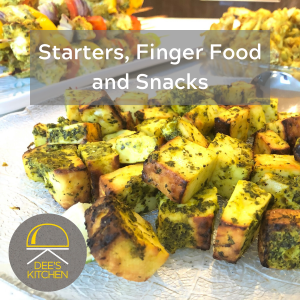 Starters, Finger Food and Snacks with Dee's Kitchen Cooking Classes